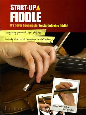 Start Up Fiddle Learn How to Play Tutor Method Teach Yourself Music Book Violin