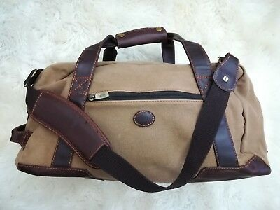 f9dc0c63205f BARON COUNTRY DUFFEL Bag - Canvas - Large Travel Bag RRP £490 ...