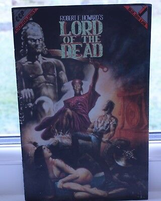 ccp conquest Robert e Howard's lord of the dead #1 1992 comic