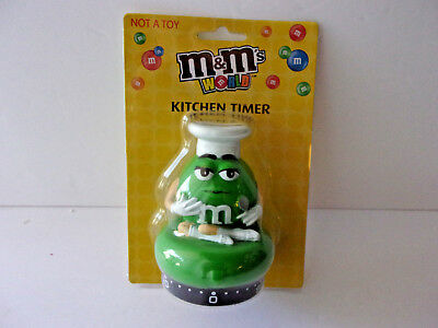 M&m's Green Kitchen Timer New In Package