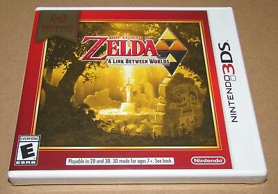 The Legend of Zelda: Link Between Worlds (Nintendo 3DS) Brand New / Fast Shippin