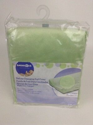 Baby Deluxe Changing Pad Cover Babies R Us light green super soft New Sealed