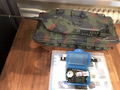 Tamiya Leopard 2A6 1:16 RC Full Option Panzer