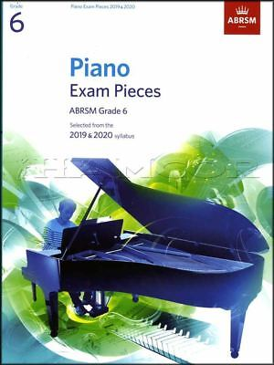 ABRSM Piano Exam Pieces 2019 2020 Syllabus Grade 6 Sheet Music Book Tests Songs
