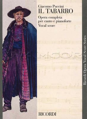 Puccini Il Tabarro Opera Completa Vocal Score Piano & Vocal Sheet Music Book