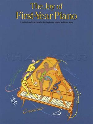 The Joy of First Year Piano Sheet Music Book Learn How To Play Denes Agay