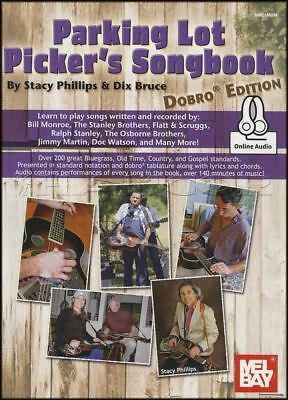 Parking Lot Picker's Songbook Dobro Edition TAB Music Book with Audio