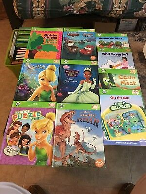 Lot of 10 Leap Frog Tag Reader Books only no pen included Disney