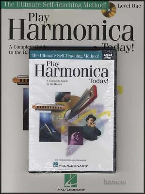 Play Harmonica Today Book/DVD/CD Learn How to Play Method for Beginners