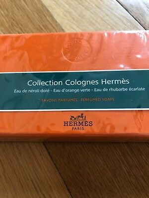 Collection Colognes Hermès, Seifenset, Neu und OVP