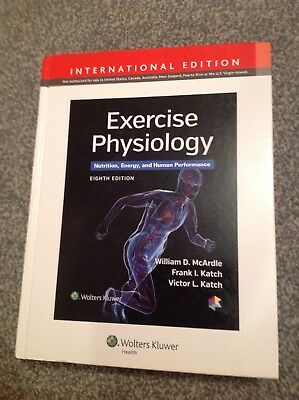 Exercise Physiology, Nutrition, Energy And Human Performance