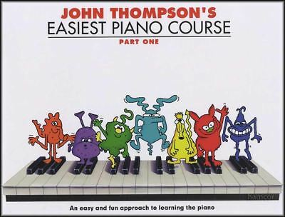 John Thompson's Easiest Piano Course Part 1 Music Book Learn How to Play Method