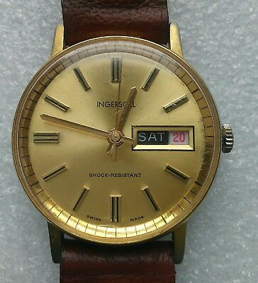 "Gents Mechanical Vintage Wrist Watch ""Ingersoll"""