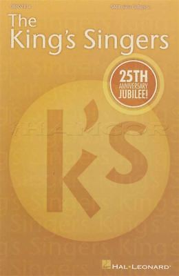 The King's Singers SATB Divisi Collection Vocal Sheet Music Book 25 Anniversary