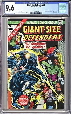 GIANT-SIZE DEFENDERS #5 CGC 9.6 White * 1st Vance Astrovik * Only 1 9.8 graded