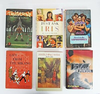 YOUNG ADULTS Lot of 6 Chapter Books