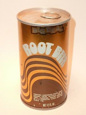 12oz Big Deal Root Beer S/S/ Pull Tab