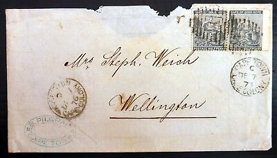 SOUTH AFRICA CAPE of GOOD HOPE 1875 Cape Town with 2 x ½d SEE BELOW BG602