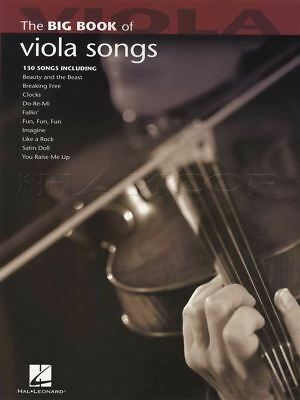 The Big Book of Viola Songs Sheet Music Book 130 Songs Elvis Coldplay E T