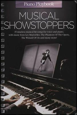 Musical Showstoppers Piano Playbook Sheet Music Book