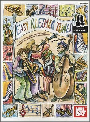 Easy Klezmer Tunes for All Instruments Sheet Music Book with Audio European