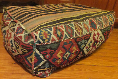 Antique Complete Shirvan Kilim  Mafrash  With Great  Colors .