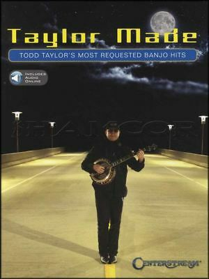 Taylor Made Todd Taylor's Most Requested Banjo Hits TAB Book/Audio 5-String