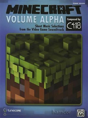 Minecraft Volume Alpha Piano Solos Sheet Music Book C418