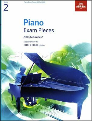 ABRSM Piano Exam Pieces 2019 2020 Syllabus Grade 2 Sheet Music Book Tests Songs