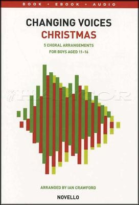 Changing Voices Christmas Sheet Music Book with Audio Winter Wonderland Gaudette