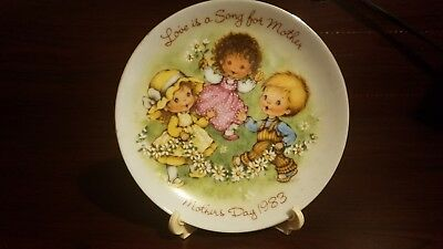 Avon Mother's Day Collectible Plates 1982, 1983, 1984