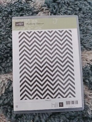 Stampin Up - Positively Chevron - Hintergrund Stempel