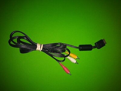 Genuine Original OEM Sony PlayStation AV Audio/Video Composite Cable PS1 PS2 PS3