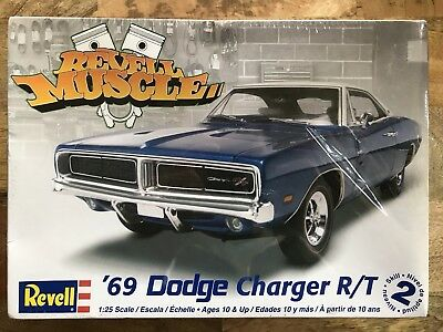 '69 Dodge CHARGER R/T 440 Revell Muscle 1/25 Model Kit