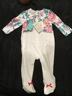 Monsoon Girs Baby Grow 6-9 Brand New With Tags