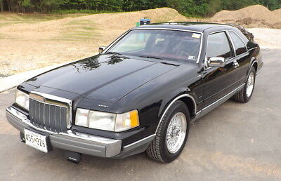 1992 Lincoln Mark Series Mark VII 1992 Lincoln Mark VII LSC