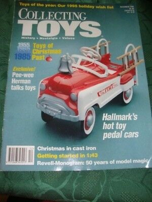 Collecting Toys Magazine  December 1995 Toys From Past Christmas,s