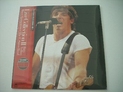 "Bruce Springsteen: Live Collection II (SEALED 12"" Vinyl from Japan)"