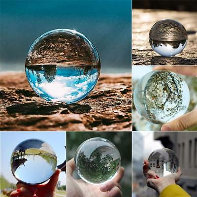 Hot 40-80mm Klarglas Kristallkugel Healing Sphere Fotografie Foto Ball Neu Sale