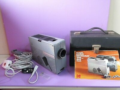Kodak Pocket Retinamat 610 Projector (B16 OCT)