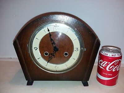 Traditional  50's MANTEL CLOCK......With quartz battery movement