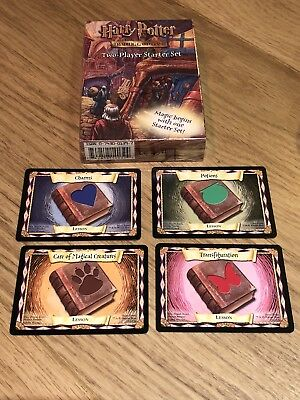 Harry Potter Trading Card Game Two-Player Starter Set Brand New & Sealed + Cards