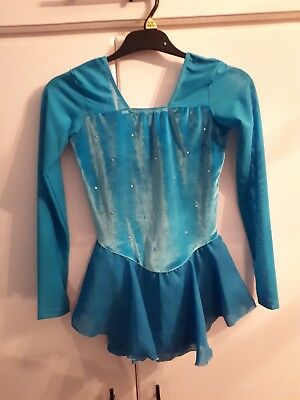 Girls ice skating/figure skating dress