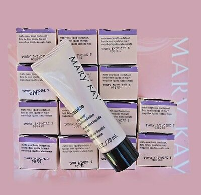 Mary Kay Timewise Matte Wear Foundation Ivory Beige Bronze Combination/oily
