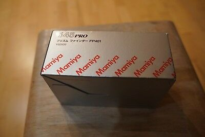 Mamiya 645 Pro Prism Finder- Sucher Prisma FP401   Y02520 in Box wie neu