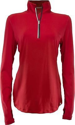 Marucci Women's Long Sleeve 1/4 Zip Performance Pullover