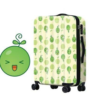 E701 Lock Universal Wheel Expression Travel Suitcase Cabin Luggage 20 Inches W