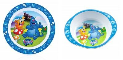 Nuby Monster Bowl and Plate Set 12 Months+