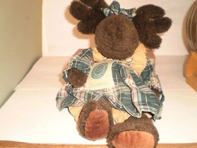 """Boyds Bears PHILOMENIA  THE MOOSE --ABOUT 12"""""""