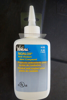 Ideal NOALOX 4 oz. Anti-Oxidant Compound Tools Electrical Grease & Lubricants